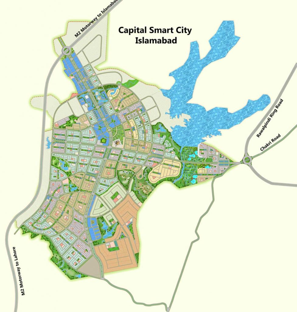 Capital Smart City Location