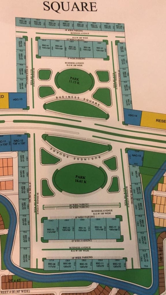 blue world city - commercial plots - location maps 5