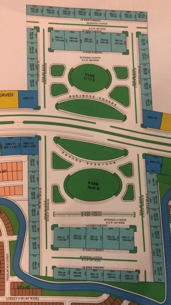 blue world city - commercial plots - location maps