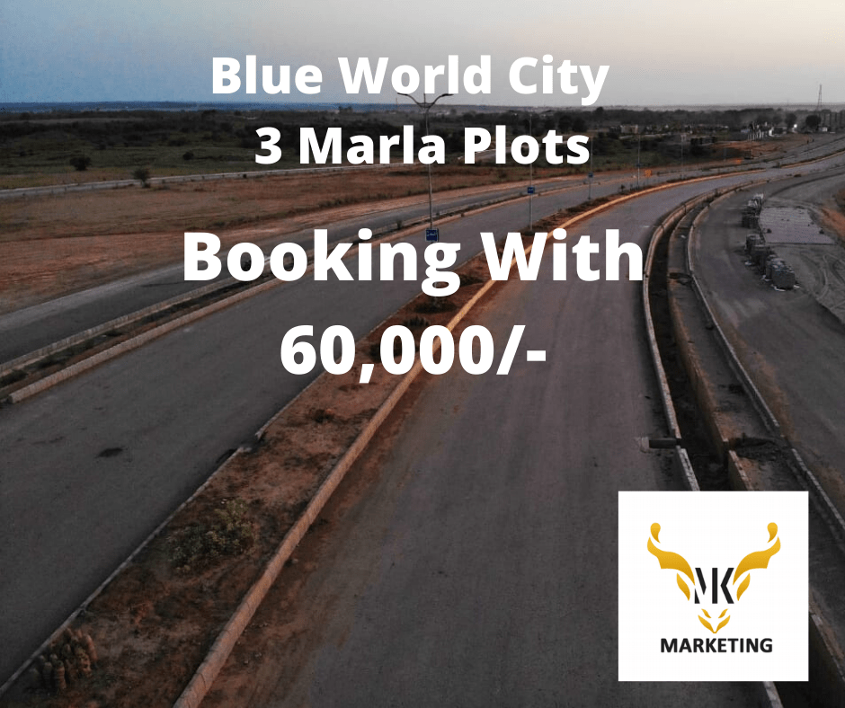 Blue World City Islamabad 3 Marla Plots