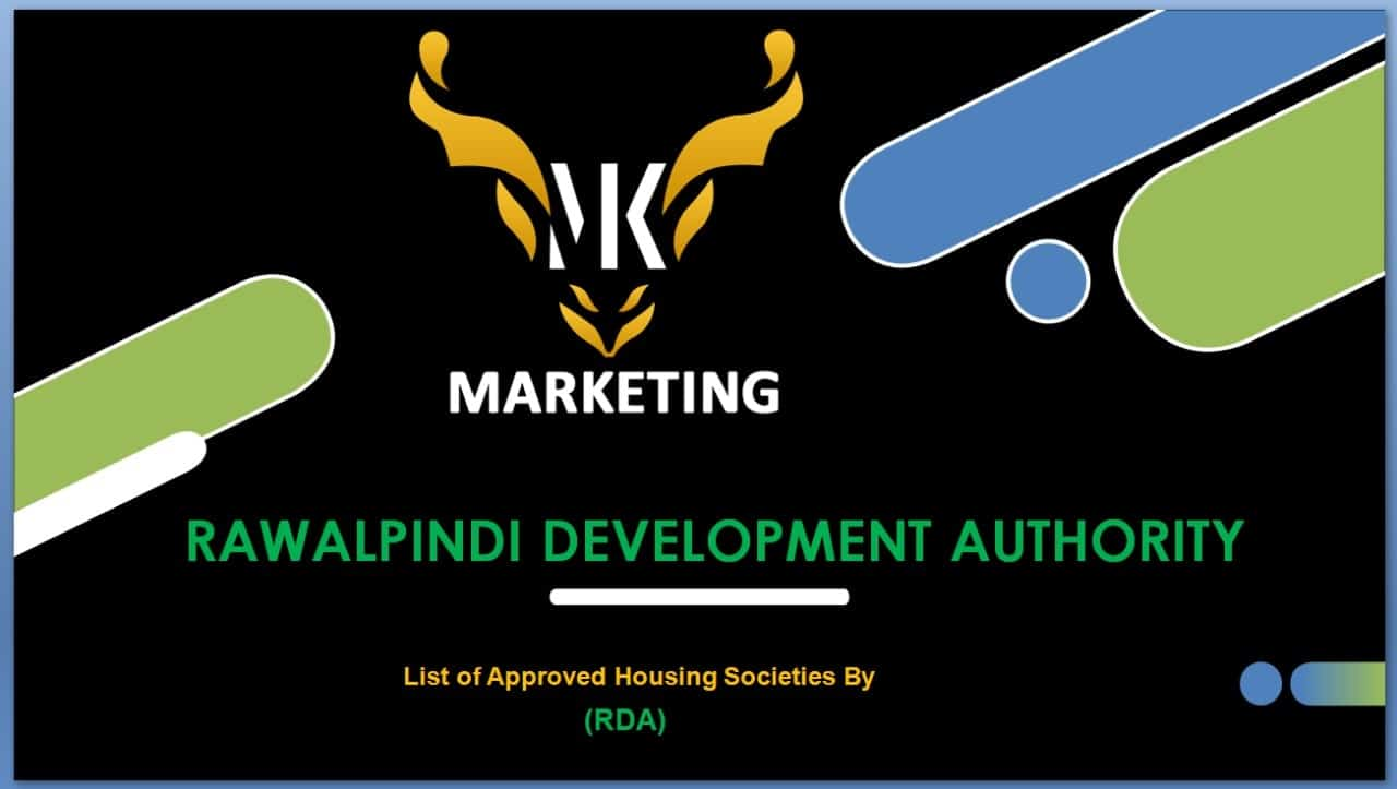 List of Approved Housing Societies By RDA
